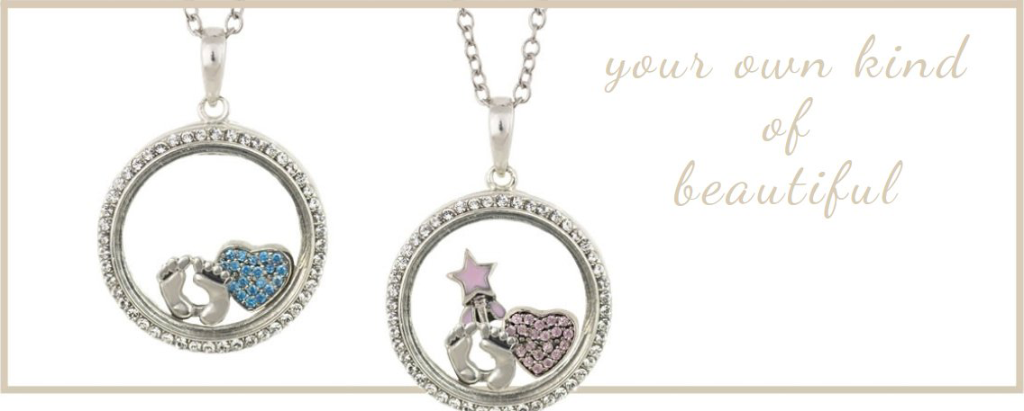Floating Locket Charm Necklace