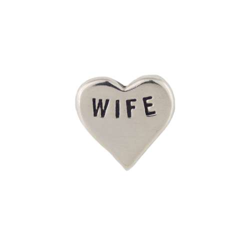 Wife Heart Charm