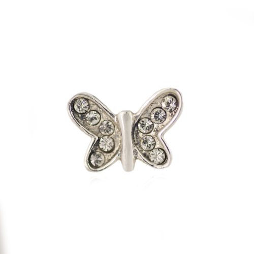 Swarovski® Crystal Butterfly Charm