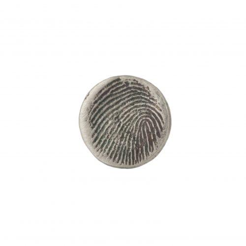 Round Fingerprint Charm