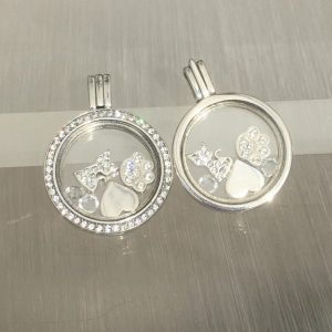 Cat Lovers Floating Locket Set
