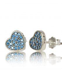 blue heart earrings 002