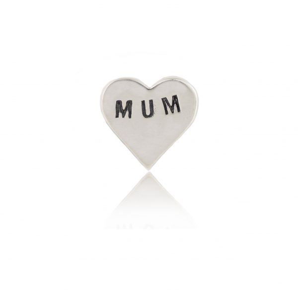 Mum Silver heart
