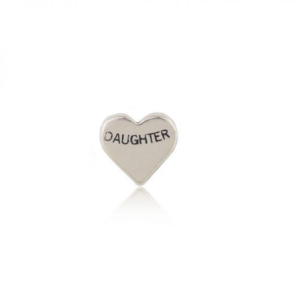 Daughter Silver Heart