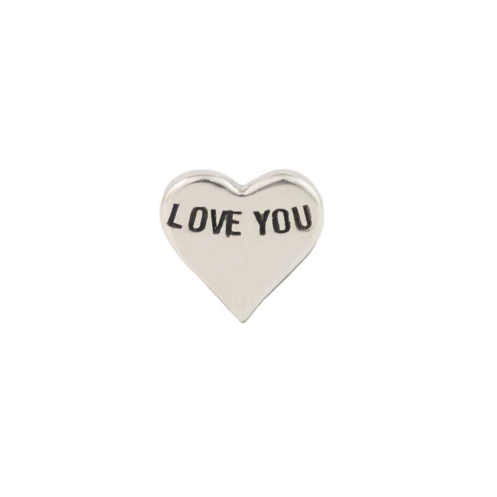 Love You Silver Heart