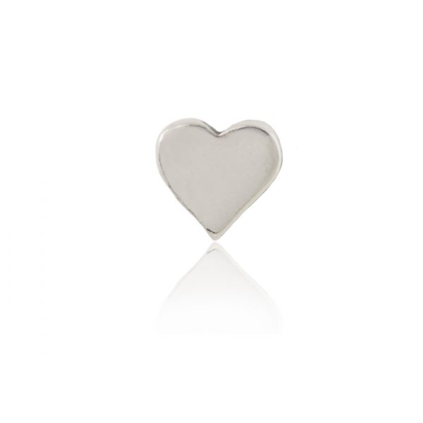 Plain Silver Heart