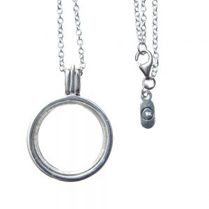 Sterling Silver Memory Locket